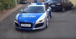 Audi R8 Polizei