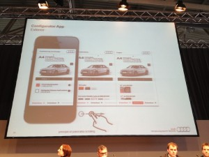 Audi Konfigurator-App