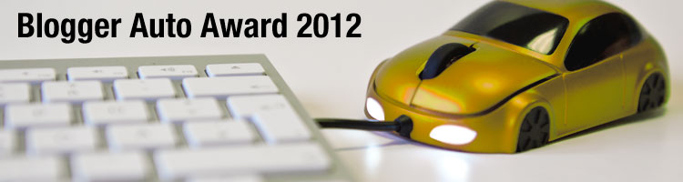 Blogger Auto Award 2012