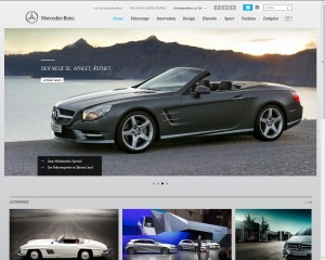 Internationales Markenportal von Mercedes-Benz Passenger Cars - Home