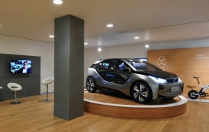 BMW i3 Concept im neuen i-Store von BMW