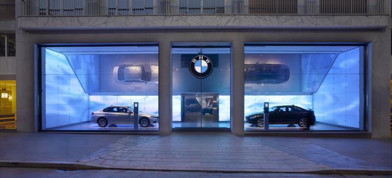 BMW i3 Concept im neuen i-Store von BMW (Quelle: BMW)