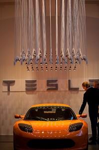 TESLA Motors Pop-Up Store in Hamburg (Quelle: Tesla Motors Inc.)
