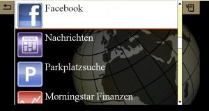 Comand Online Apps (Quelle: Daimler AG)