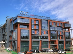 Research & Development-Center in Peking (Quelle: Audi AG)