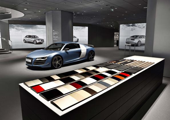 Audi City Beijing eröffnet. (Quelle Audi AG)