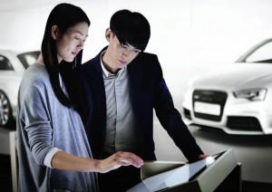 Audi City Beijing eröffnet. (Quelle: Audi AG)