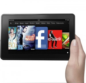Amazon's Kindle Fire bald im Auto? (Quelle: Amazon)