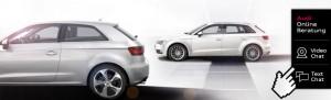 Online Beratung mit Videochat (Quelle: Audi)
