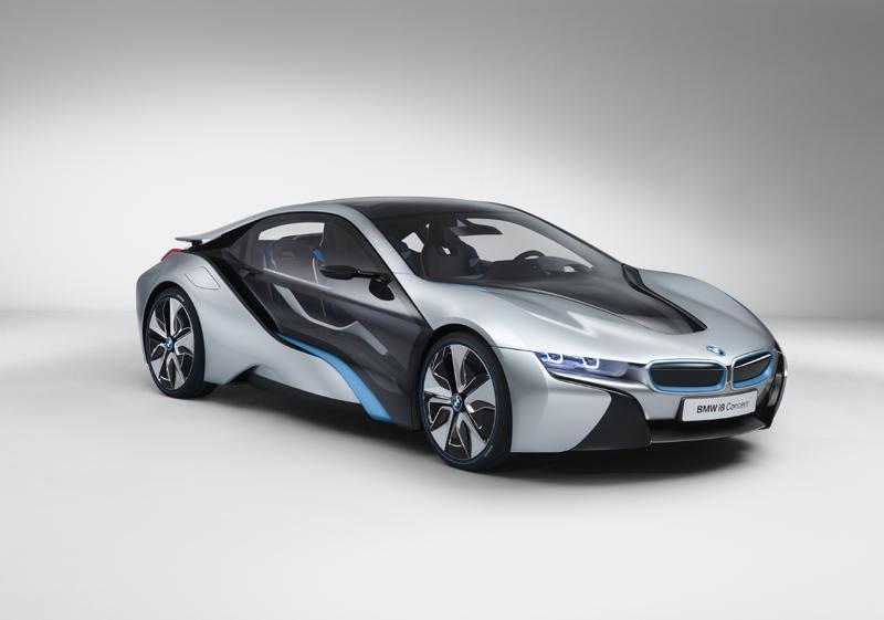 BMW i8 Concept (09/2011) (BMW)
