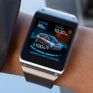 BMW i Remote App und Samsung Galaxy Gear