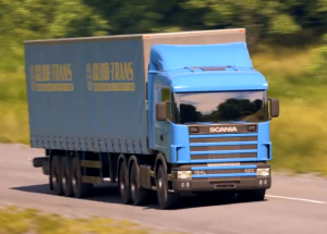 Scania, unecht. (Otoy Inc.)