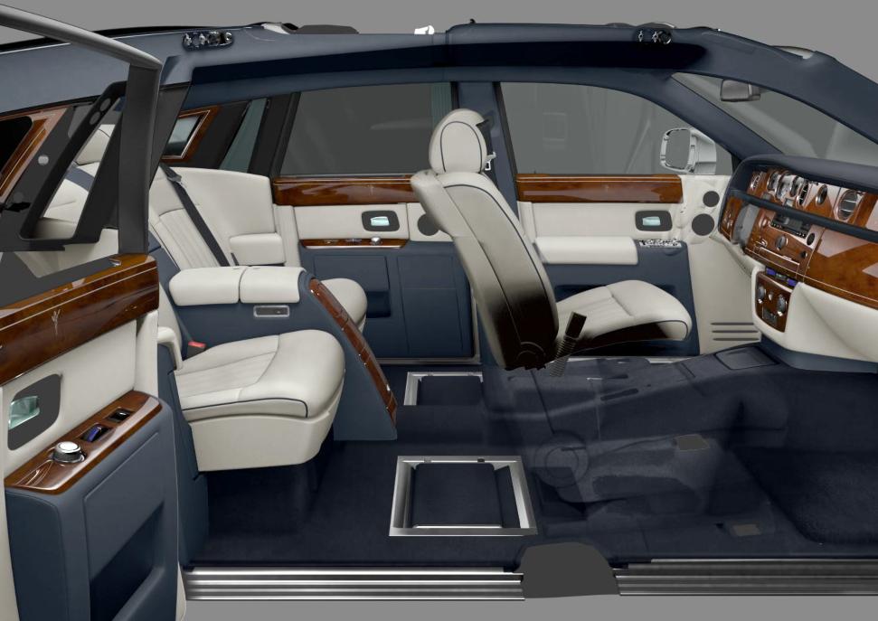 Rolls- Royce Phantom - Video Innenansicht