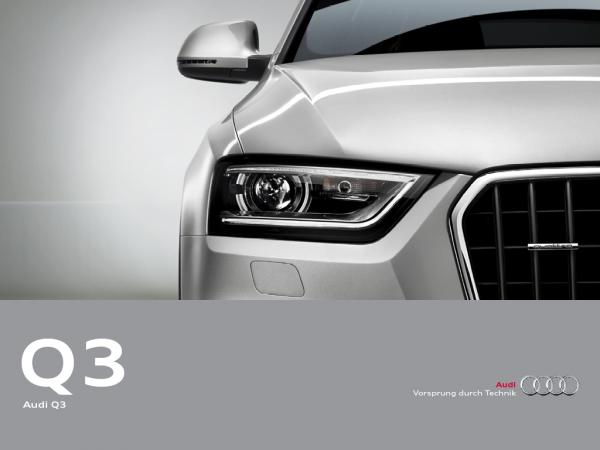 Audi eKatalog Q3 Home