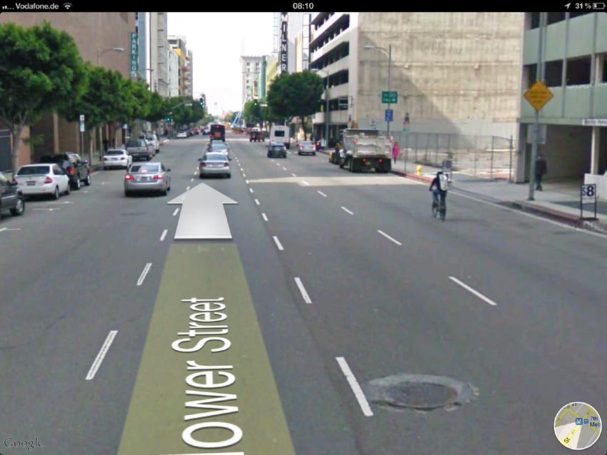 A-Klasse-Webspecial in Google Maps