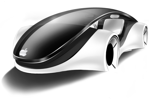 Apple iCar - Designstudie von Franco Grassi (Apple)
