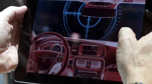 Volvo Augmented Reality iPad-App