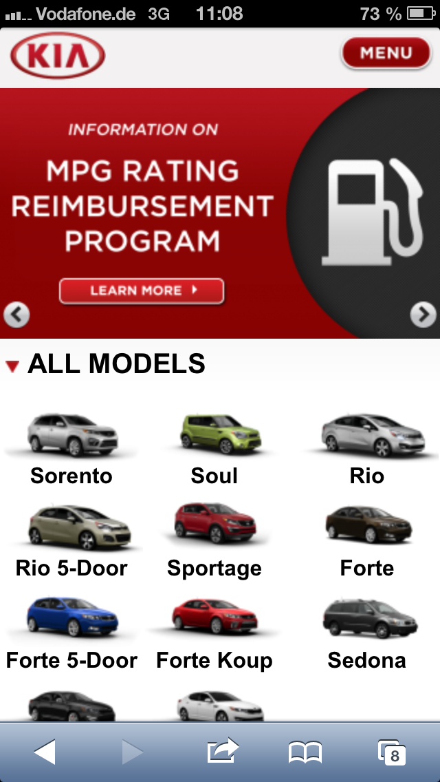 KIA.com (Screenshot)