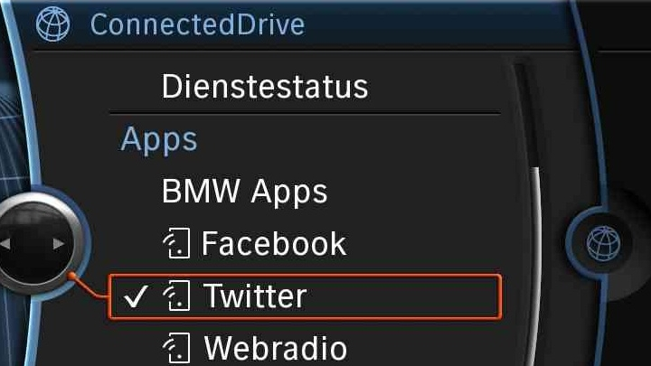 BMW-Connectdrive (Quelle: BMW)