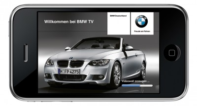 BMW iPhone-App (Quelle: BMW)