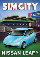 Nissan Leaf in SimCity (Quelle: origin.com)