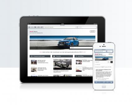 Audi Newsroom (Quelle: Audi)