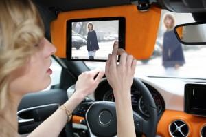 Fashion Concept Car bietet einige Extras (Quelle: Zalando)