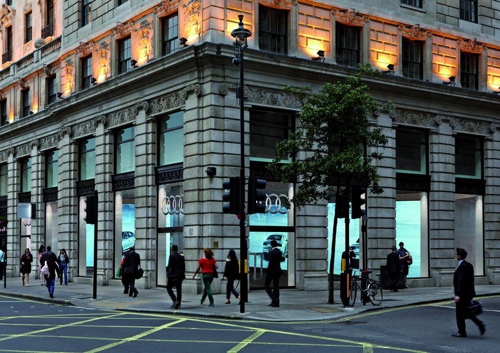 Audi City Metropolis Cyberstore in London (Quelle: Audi)