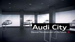Audi City Metropolis Cyberstore in London (Quelle: Audi)
