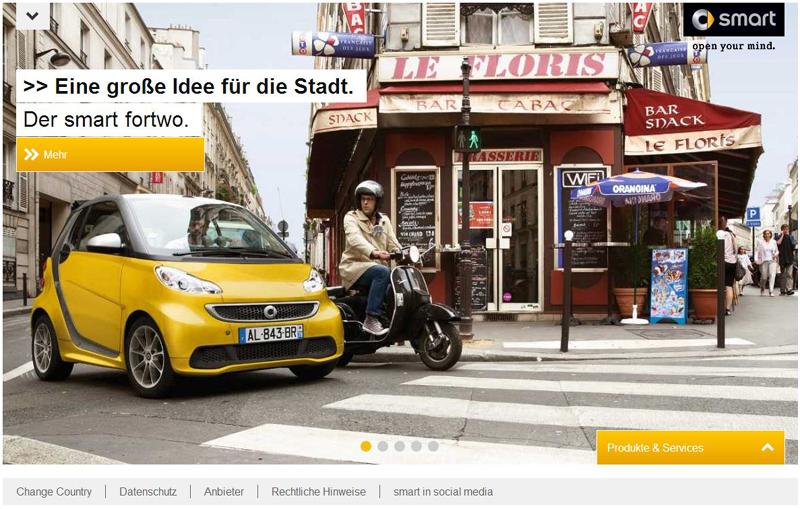 SMART Homepage @ Desktop