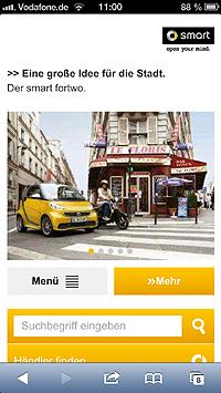 SMART Homepage @ Smartphone