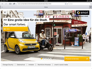 SMART Homepage @ Tablet