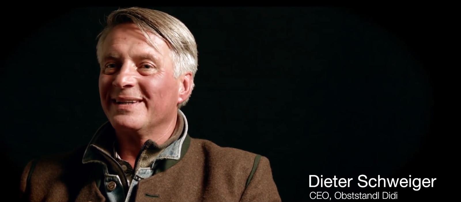 Dieter Steiger, CEO Obststand Didi