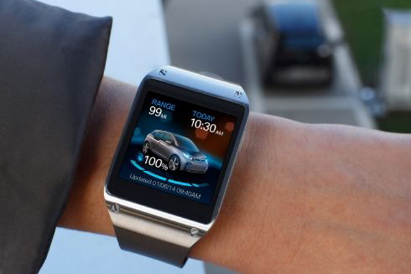 BMW i Remote App und Samsung Galaxy Gear 1