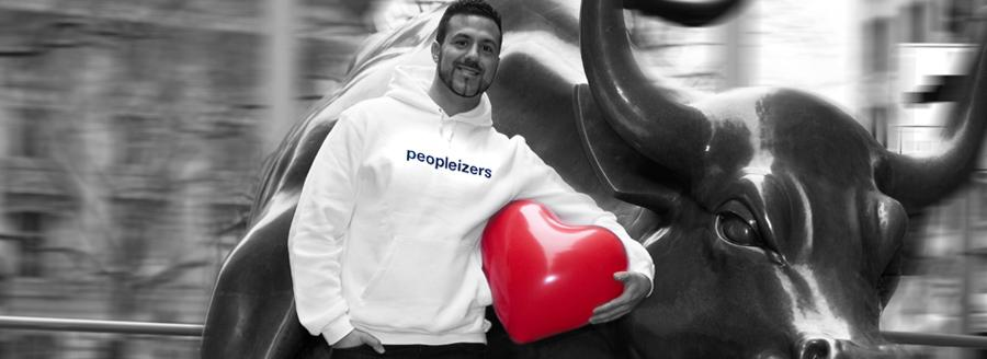Eleftherios Hatziioannou, Founder von Peopleizer