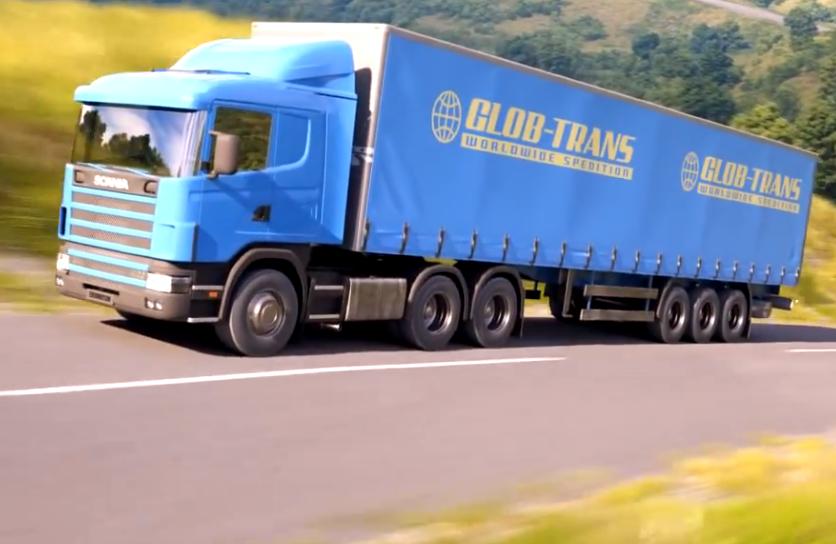 Scania, unecht. (Otoy Inc.)