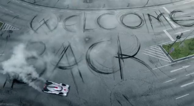 Welcome back Porsche in Le Mans