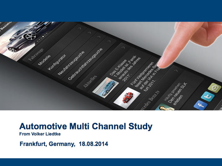 Automotive Multi Channel Study (Volker Liedtke)