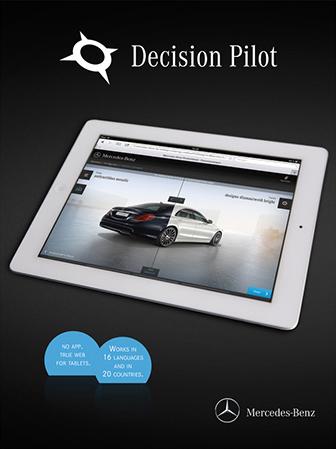 Mercedes-Benz PKW Tablet Konfigurator (Jung von Matt/next)