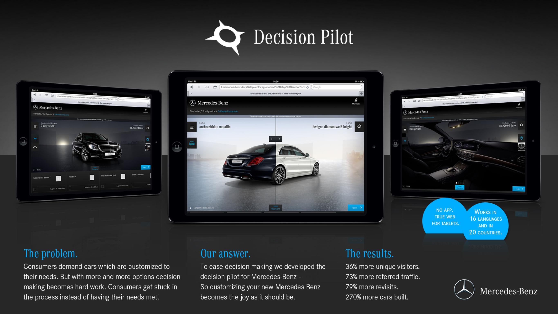 Car Configurator Mercedes-Benz - ausgezeichnet mit dem iF DESIGN AWARD 2015