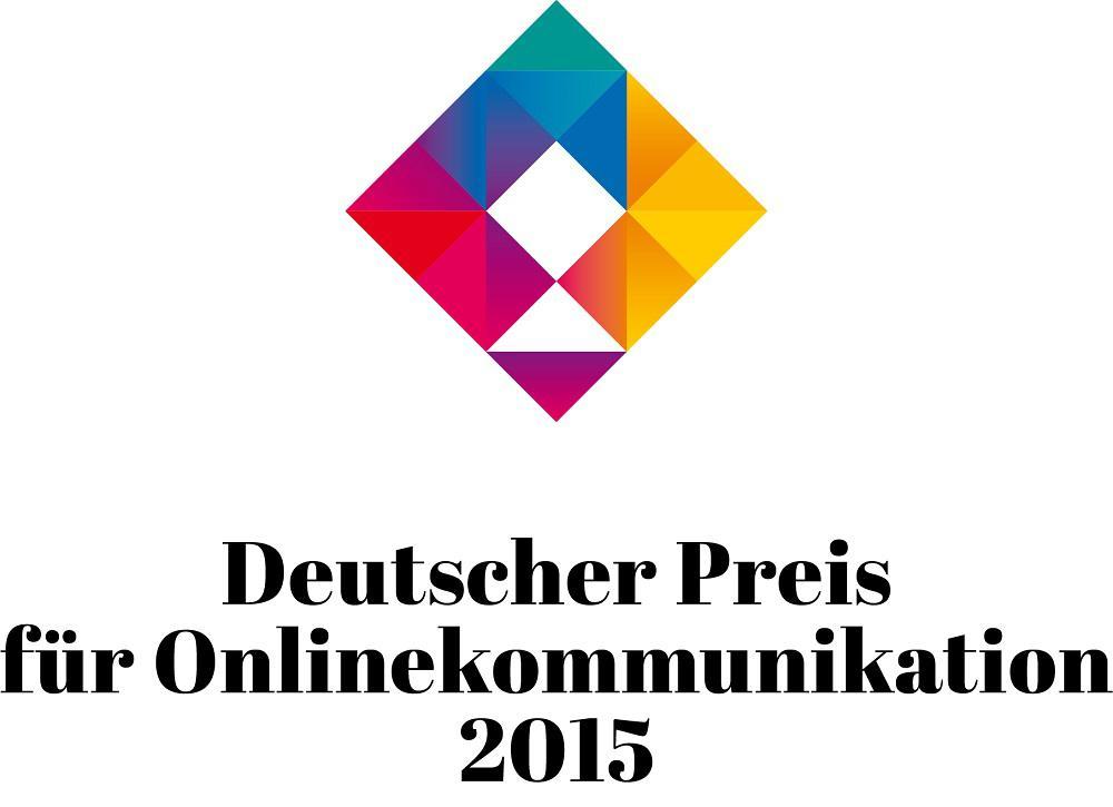 Deutscher Preis für Onlinekommunikation 2015