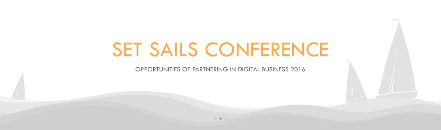 SET SAILS CONFERENCE by IgnitionOne