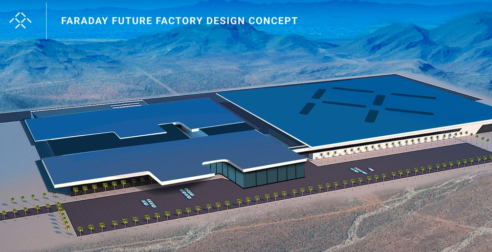 Faraday Future Factory Design Concept (Faraday Future)