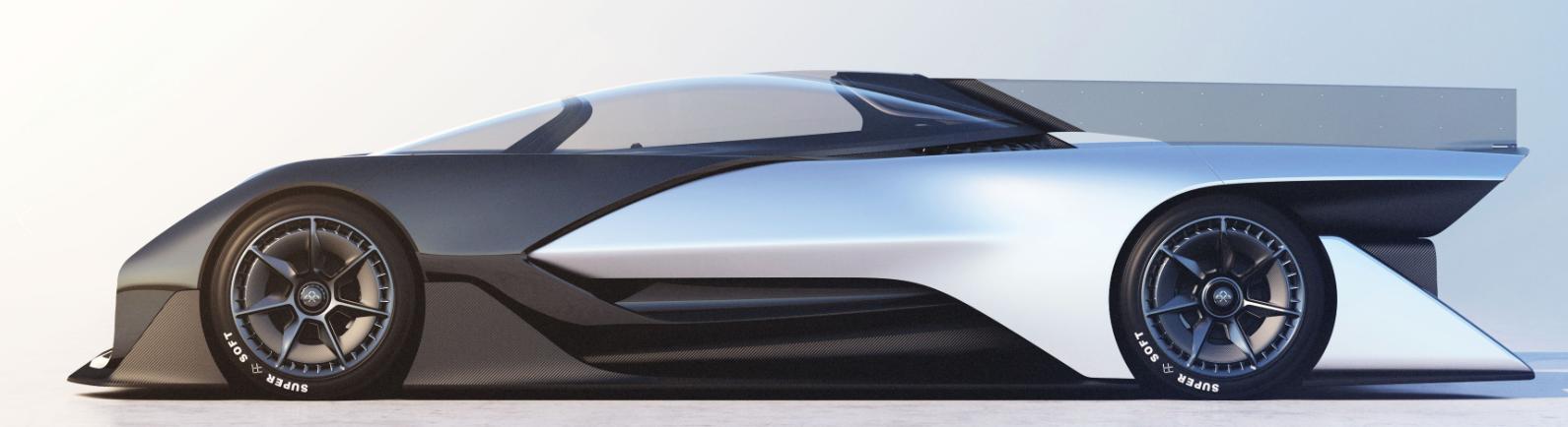Ein Blick in die Zukunft des Automobils (Faraday Future)