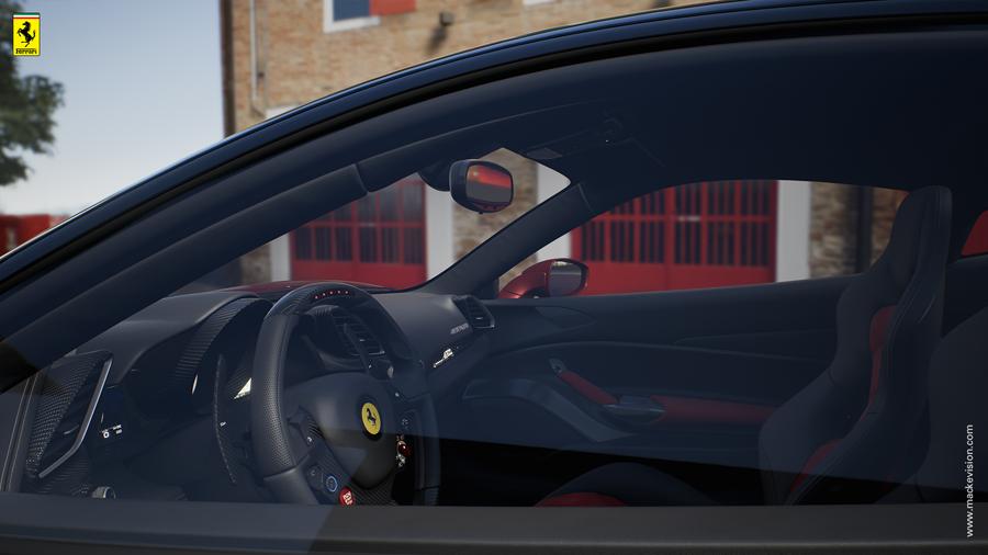 Ferrari Konfigurator im Händler-Showroom 4 (Mackevision)