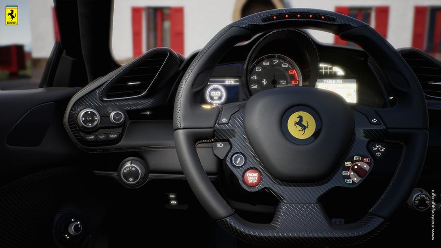 Ferrari Konfigurator im Händler-Showroom 5 (Mackevision)