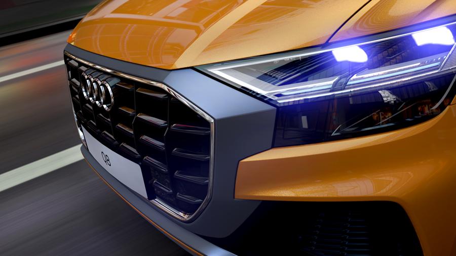 Audi Q8 im Car Configurator (Audi AG)