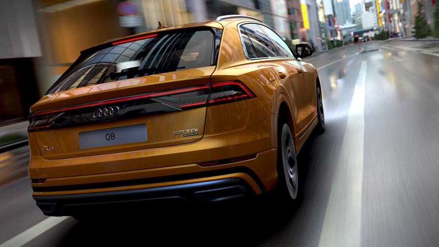 "Audi Car Configurator bald mit den Surroundings ""Chicago Night"" und ""LA Vista"" (Audi AG)"