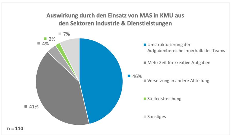 Auswirkung durch den Einsatz von MAS in KMU aus den Sektoren Industrie & Dienstleistungen (Lucas Zeitz)