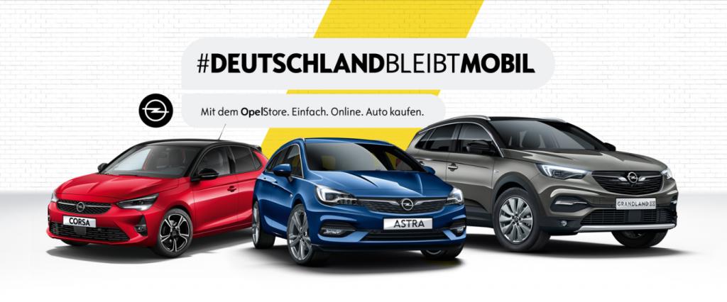 Opel launcht den OpelStore in Verbindung mit der Wiedereröffnung der Autohäuser (Opel)